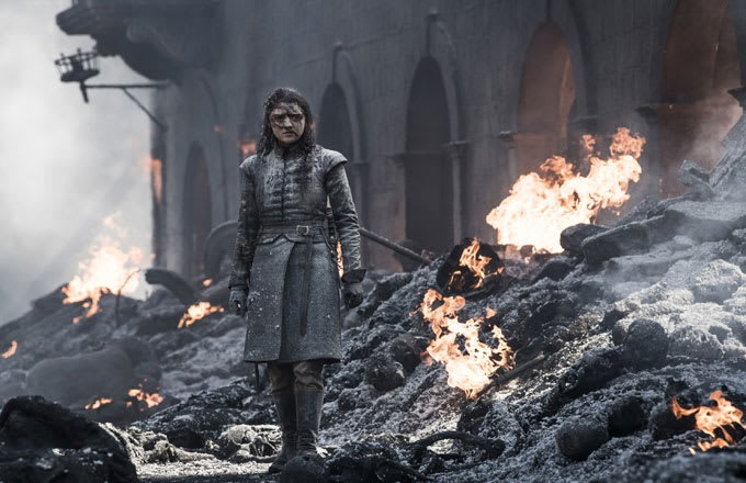 Arya after the struggling in the streets have to come to pass