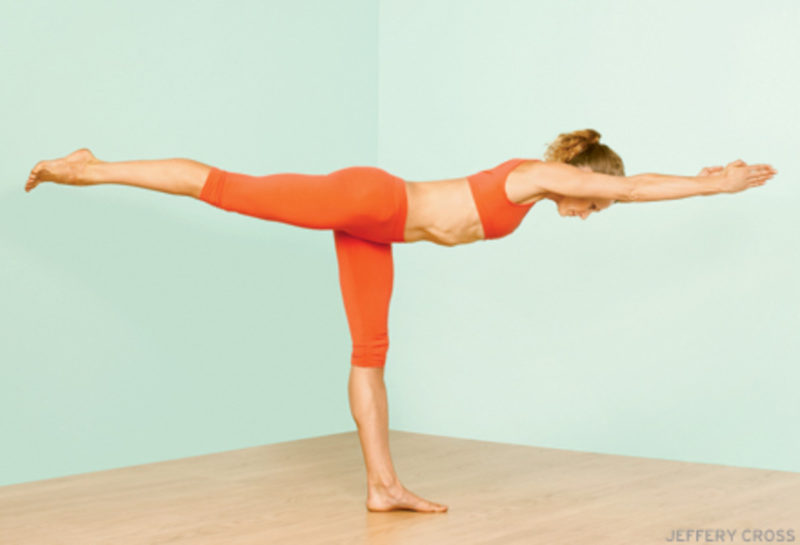 warrior 3 yoga pose