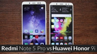 Honor 9i vs Redmi note 5 Pro
